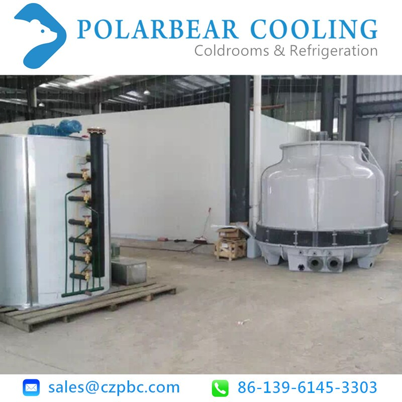 Low temperature chiller for industrial or lab use