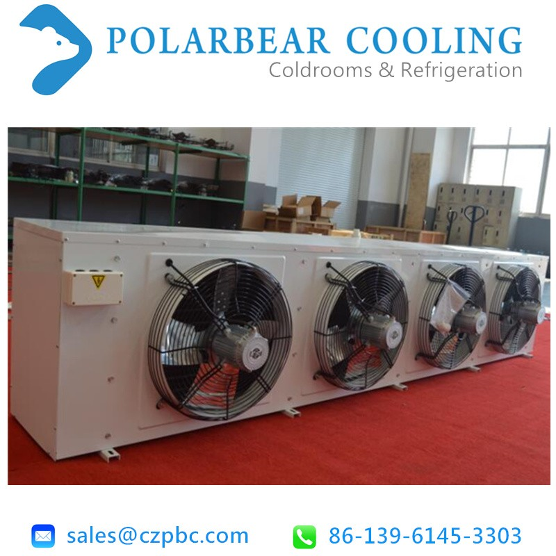 Evaporative air cooler for cold room
